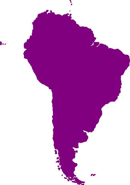 Continent Of South America Clip Art at Clkercom  vector clip art