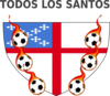 Episcopal Shield Soccer With Fire 2 Clip Art