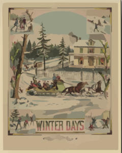 Winter Days Clip Art