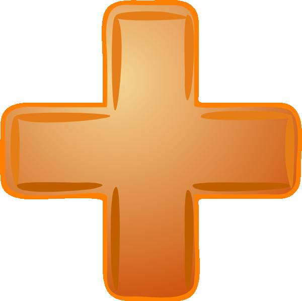 orange plus sign clip art at clker com vector clip art online rh clker com Equal Sign Clip Art clipart plus minus signs