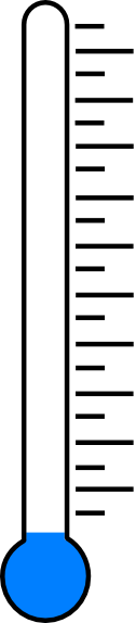 Blank Fundraising Thermometer Clip Art at Clker.com - vector clip art ...