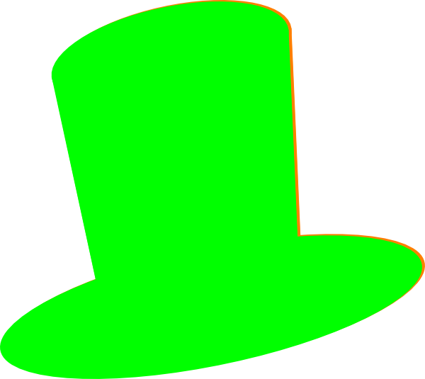 Green Hat Clip Art At Clker Com Vector Clip Art Online Royalty