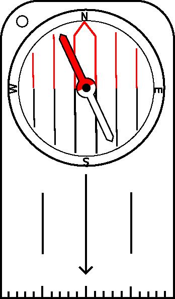 Orienteering Compass Clip Art At Clker Vector Clip Art Online