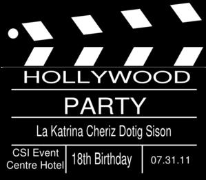 hollywood 18th birthday clip