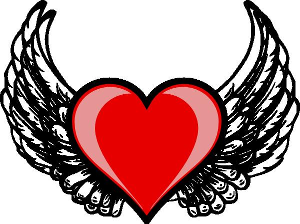 Heart Wing Logo Clip Art At Clker.com
