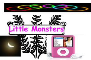 Lil Monsters Clip Art