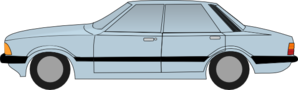 Ford Cortina Clip Art