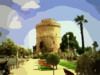 Salonica White Tower Clip Art