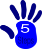 Five Step Clip Art