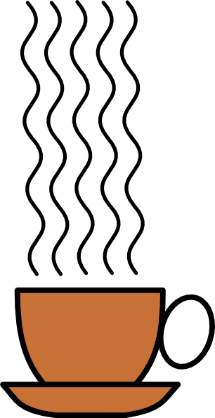 music staff clipart. Coffee-staff clip art