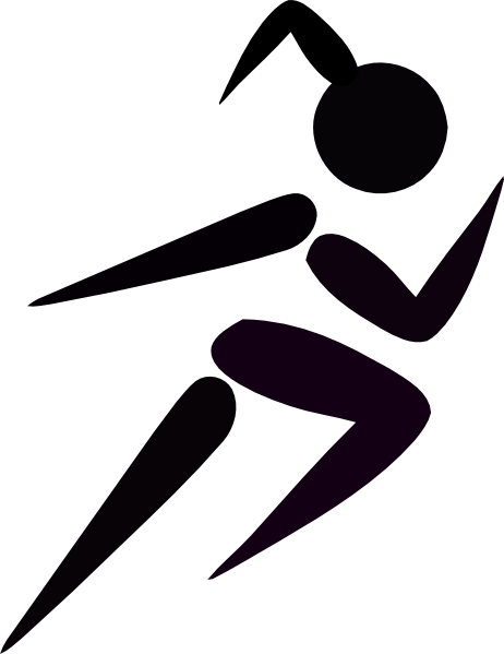 Girl Running clip artRunning Clipart