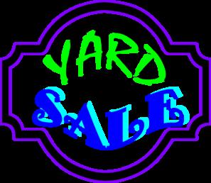 Yard Sale Sign Clip Art at Clker.com - vector clip art ...