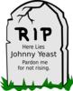 Johnny Yeast Clip Art