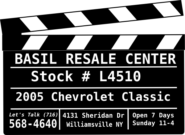 Basil Resale Sheridan >> Basil Resale Sheridan Used Car Video Inventory Video Cover Image Clip Art at Clker.com - vector ...