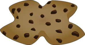 X Shaped Cookie Clip Art