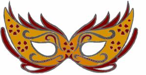 masquerade mask clip art at clker com vector clip art online rh clker com Masquerade Masks On a Stick masquerade masks clipart png