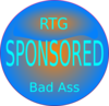 Rtg Sponsored Bad Ass1 Clip Art