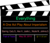 One Act Play Everything Clip Art