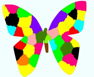 Rainbow Butterfly Clipart | www.pixshark.com - Images ...