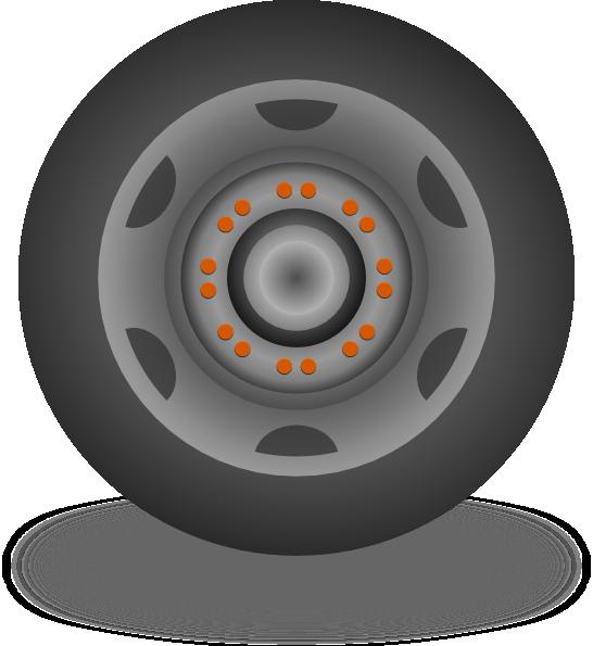 R O C K: Wheel 5 Clip Art At Clker.com