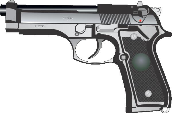 9mm Pistol Clip Art at Clker.com - vector clip art online ...
