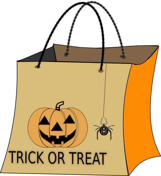 Trick Or Treat Candy Clipart Trick Or Treat Bag Cli...