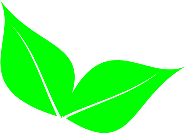 Two Leaves Clip Art at Clker.com - vector clip art online ... Leaves Clipart