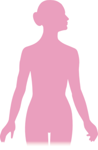 Pink Woman Silhouette Clip Art