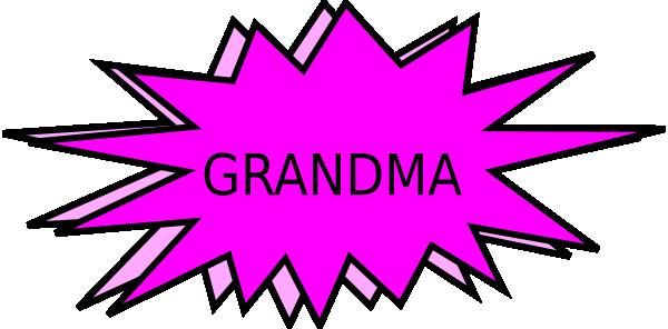 Grandma Clip Art At Clker Com Vector Clip Art Online