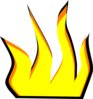 Cartoon Fire Clip Art