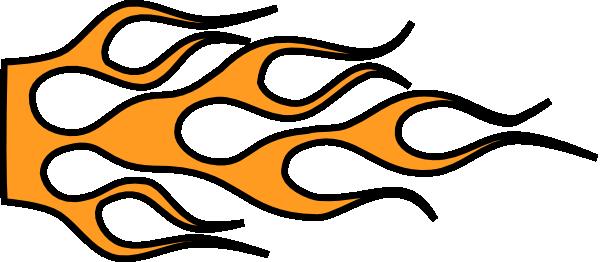 Racing Flame Car Clip Art at Clker.com - vector clip art online ...