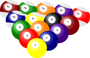 Billiard Balls Clip Art