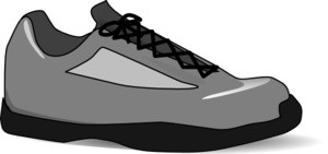 Tennis Shoe Clip Art