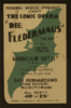 Federal Music Project Presents The Comic Opera  Die Fledermaus  -  The Bat  By Johann Strauss Clip Art
