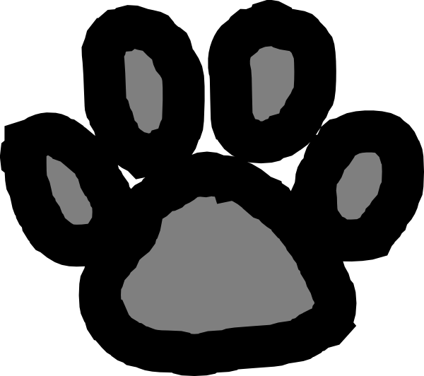 Paw Print Clip Art At Clkercom Vector Online Royalty Free