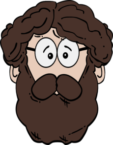 Man With Beard Clip Art