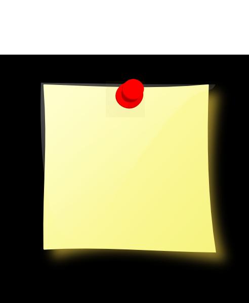 modified postit black background clip art at clkercom