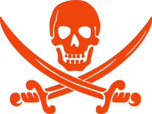 Pirate Orange Clip Art