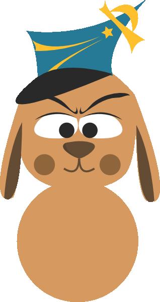clipart dog running. Police Dog