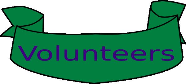 Volunteer Banner Clip Art at Clker.com - vector clip art online ...