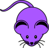 Purple Mouse Clip Art