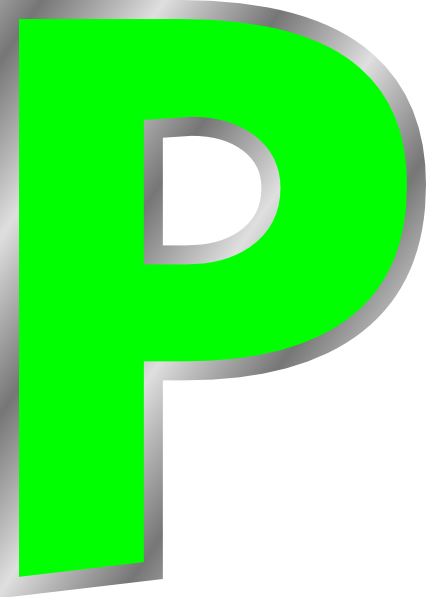 Letter P Clip Art At Clker