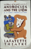 Federal Theatre Presents George Bernard Shaw S  Androcles And The Lion  A Negro Production / Halls. Clip Art
