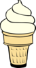 Big Ice Cream Cone Clip Art