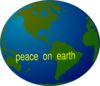 Peace On Earth Clip Art