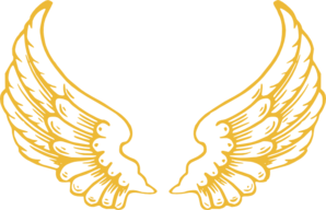 Gold Wings Clip Art