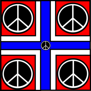 Norway In Peace Clip Art
