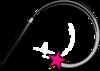 Pink Wand Clip Art