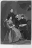 President Lincoln And Family Clip Art