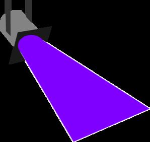 Spot Light Purple Clip Art At Clker
